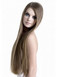 #10 Hellbraun, 40 cm, Clip In Extensions