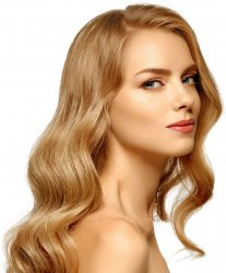 #18 Dunkelblond, 70cm, Tape Extensions