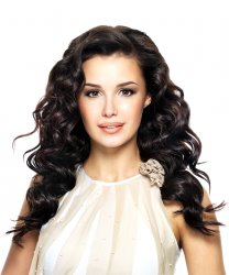 #1B Schwarzbraun, 60 cm, Double drawn Tape Extensions