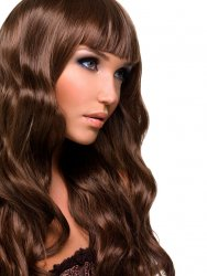 #6 Mittelbraun, 70 cm, Double drawn Tape Extensions
