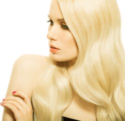 #613 Hellblond, 60 cm, Tape Extensions